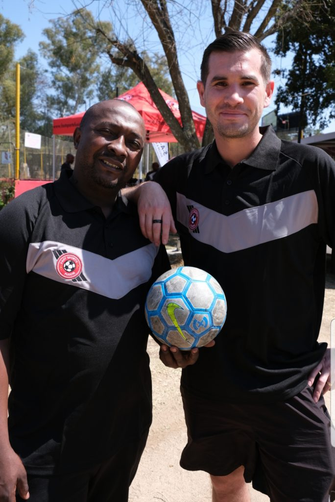 Alistair Ndivhuho Silima and Marc Van Der Sluys